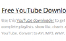 How to download You tube playlist