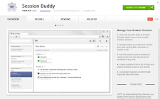 How to save session in Chrome Browser – Chrome Extension Session Buddy