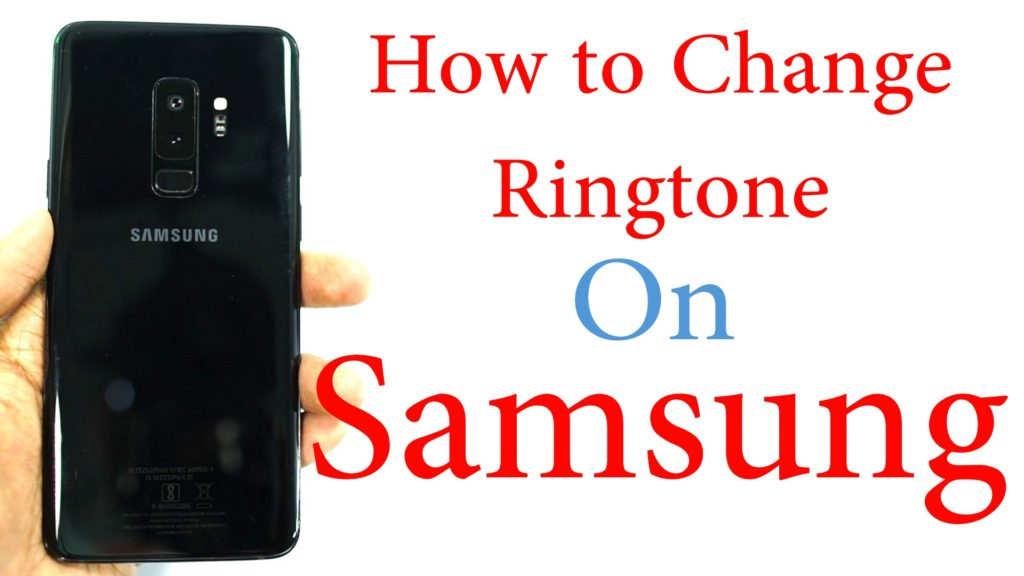 samsung phone change ringtone